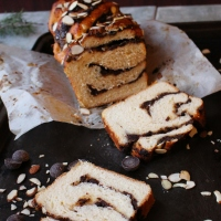 Salted Chocolate Marzipan Babka