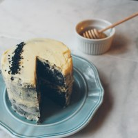 black sesame cake (a story)