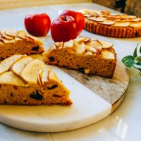 Apple Pumpkin Bread Tart